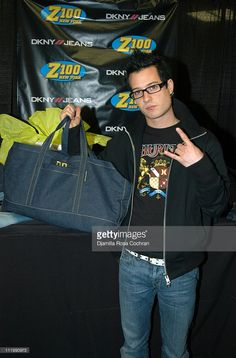 David Desroisers of Simple Plan with DKNY Jeans apparel at Z100's Jingle Ball…