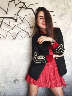 I'M WEARING >> Jacket: La Condesa Conde | Dress…