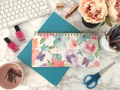 Staying Organised In Style | Weekday Planner