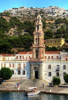 Monastery of Panormitis, Symi Island #Greece#my island#love
