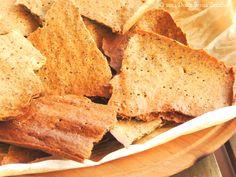 Semplici Crackers di Farina di Kamut Integrale | Dolce Senza Zucchero