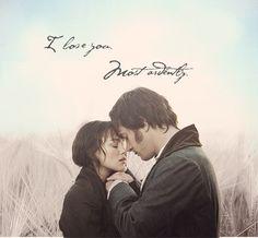 Elizabeth ♥ Mr Darcy / Pride and Prejudice
