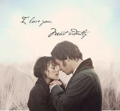 Elizabeth ♥ Mr Darcy / Pride and Prejudice