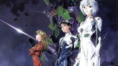 Evangelion  Shinji Aska Rei