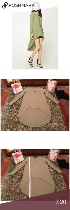 ❤️NY&CO slub knit high-low tunic. Slub knit high-low tunic. NWT 60% cotton, 40% modal Forever 21 Tops Tunics