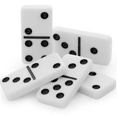 Good domino questions (no link). Think of a closed question like what's the sum of the 2 sides of a domino. Give the students the answer and ask them to work back to what the start might have been (so the question now has multiple answers). Dice Games, All Games, Games For Kids, Games To Play, Kids Fun, How To Play Dominoes, Family Card Games, Teaching Multiplication, Maths