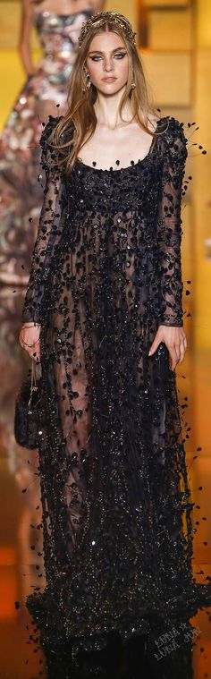 Elie Saab Fall 2015 Couture. Exclusive bohemian. For more follow www.pinterest.com/ninayay and stay positively #inspired