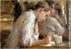 """Karen Offutt - """"Taking Notes"""" (2003)"""