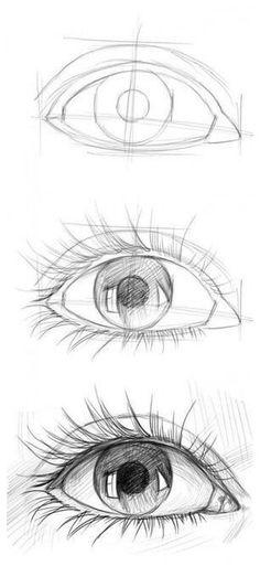 Art Drawings Sketches Simple, Pencil Art Drawings, Drawing Faces, Amazing Drawings, Eye Pencil Drawing, Doodle Drawings, Hipster Drawings, Pencil Sketching, Horse Drawings