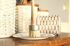 White Washing A Longaberger Basket Diy Tammy Damore