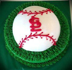 St. Louis Cardinals Baby Shower Cake.