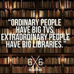 Tag someone that is a voracious reader!!  Whether you have a physical library eBook collection or audible series it all counts!! The more you learn the more you earn!!  by 6x6_success