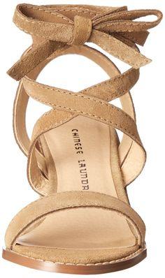 "$100 23/4"" heel  Amazon.com: Chinese Laundry  Calvary Split Sue Heeled Sandal:"