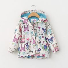 2016-Kids-Boys-Girls-Long-Sleeve-Cute-Animals-Print-Jacket-Coat-Hooded-Outerwear