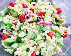 21 Day Fix Greek Pasta Salad