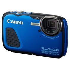 CANON D30 Compact Bleu - CMOS 12 MP Zoom 5x pas cher - PetitBuzz ❤