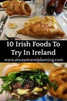 What To Eat In Ireland – List of The Top 10 Traditional Irish Foods to eat in Dublin and around Ireland. With a video talking you through the best traditional authentic Irish food options to put on your bucket list. Irish Appetizers, Irish Desserts, Asian Desserts, Ireland Food, Ireland Travel, Dublin Ireland, Ireland Vacation, Traditional Food, Traditional Irish Recipes
