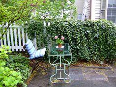 patio writing, Alexandra Stoddard cottage