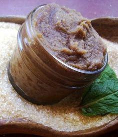 DIY Warm Vanilla Brown Sugar & Coconut Body Scrub