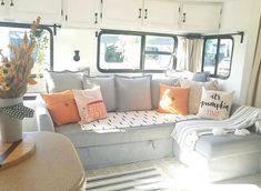 Diy Sofa, Rv Sofa Bed, Couch, Diy Camper, Rv Campers, Diy Caravan, Teardrop Campers, Caravan Ideas, Teardrop Trailer