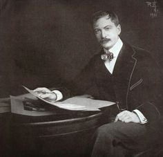 Rudolph Eickemeyer Jr., USA : Self-Portrait. 1901