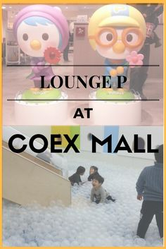 LOUNGE P at Coex Mall | Travel Seoul with Kids | Travel Seoul | Korea with Kids | Kids Cafes | Kids Cafes in Seoul