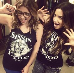 Ashley Benson, Shay Mitchell