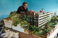 Nick Cobb's miniature post-apocalyptic South London