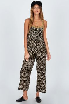 e266ba3ba217 Amuse Society Sunset Drive Jumper Weekend Outfit, Fun Prints, Overalls,  Jumpsuit, Summer. Siren & Muse