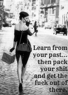 Learn from your past... #Quotes