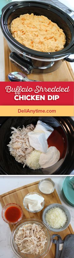 1. Mix cream cheese, ranch dressing and pepper sauce until smooth. 2. Add in cheese and chicken. Microwave on high for 1 minute, stir, continue in microwave for 90 seconds and stir again. 3. Continue in 1 minute intervals until dip is thoroughly heated and cheese is melted. 4. May be mixed in an oven safe baking dish and baked for 20 minutes at 350 degrees or mixed in a slow cooker and heated on low for several hours.