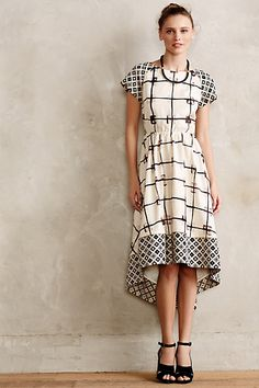 Cadria High-Low Dress #anthropologie #anthrofave