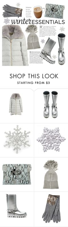 """winter essentials"" by italist ❤ liked on Polyvore featuring Herno, Dolce&Gabbana, R.J. Graziano, Pepper Chocolate, MM6 Maison Margiela, Restelli, women's clothing, women, female and woman"