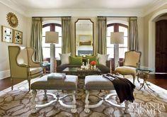 ** living room   Atlanta Homes & Lifestyles
