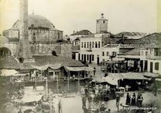 The Mosque in Market Square Photo Story, Mosque, Old Photos, Paris Skyline, Taj Mahal, Greece, Travel, Painting, Ottoman