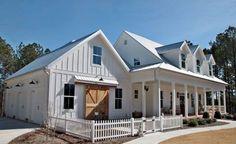 90 incredible modern farmhouse exterior design ideas (64)