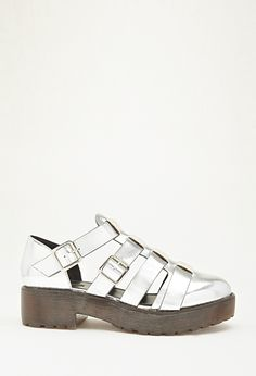 Faux Leather Platform Sandal - Womens shoes and boots | shop online | Forever 21 - 2000079647 - Forever 21 EU
