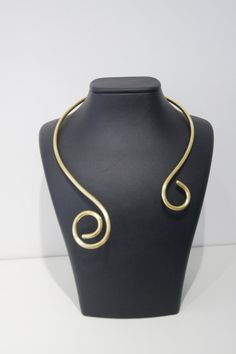 Expedited fast shipping / Princess Brass Neck by ArtofAccessory