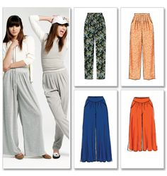Pants - look super comfortable & easy.  will definitely be making these!!!