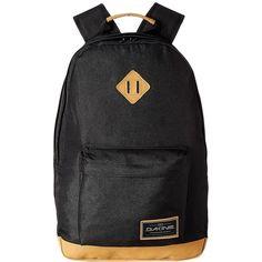 Dakine Detail Backpack 27L (Black) Backpack Bags ($48) ❤ liked on Polyvore featuring bags, backpacks, dakine, padded laptop bag, padded bag, laptop bags and rucksack bags