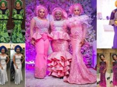 Trendy Aso Ebi Styles During Week You Will Love to See