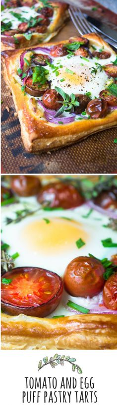 An easy and elegant breakfast or brunch dish that takes minimal effort for a big 'wow'!