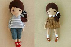 Muñecas de trapo: Patrones gratis para imprimir. ¿Estás buscando patrones para hacer tus propias muñecas de trapo? Entra, te damos las mejores ideas DIY.
