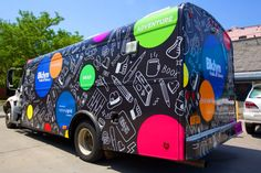 vehicle wrap for library van - Google Search