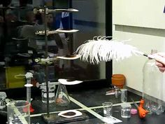Nitrogen triiodide is touchy enough to be detonated by a feather: | The 27 Most Impressive Chemical Reactions