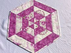 Easter basket purple quilted placemats set of 4 easter placemats enjoy this bright quilted centerpiece for your dining room table perfect for easter get togethers or for that spring look in your home or a wonderful negle Gallery