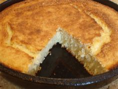 """I didn't know cornbread was mystery until a friend told me she'd always wanted to know how to make """"Southern cornbread"""". Well... here it is, just like Mama Peggy always made it."""