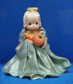 Cinderella Cinder Boo Fall 2014 Doll Precious Moment Disney Princess Signed 4945 #PreciousMoments #VinylDolls