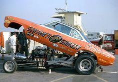 Terry Hendrick - Seaton's Super Shaker Funny Car Photos. #OldSchoolNHRA