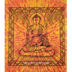 Buddha Tapestry Wall Hangings astrology tapestry zodiac indian wall hanging orange bedspread